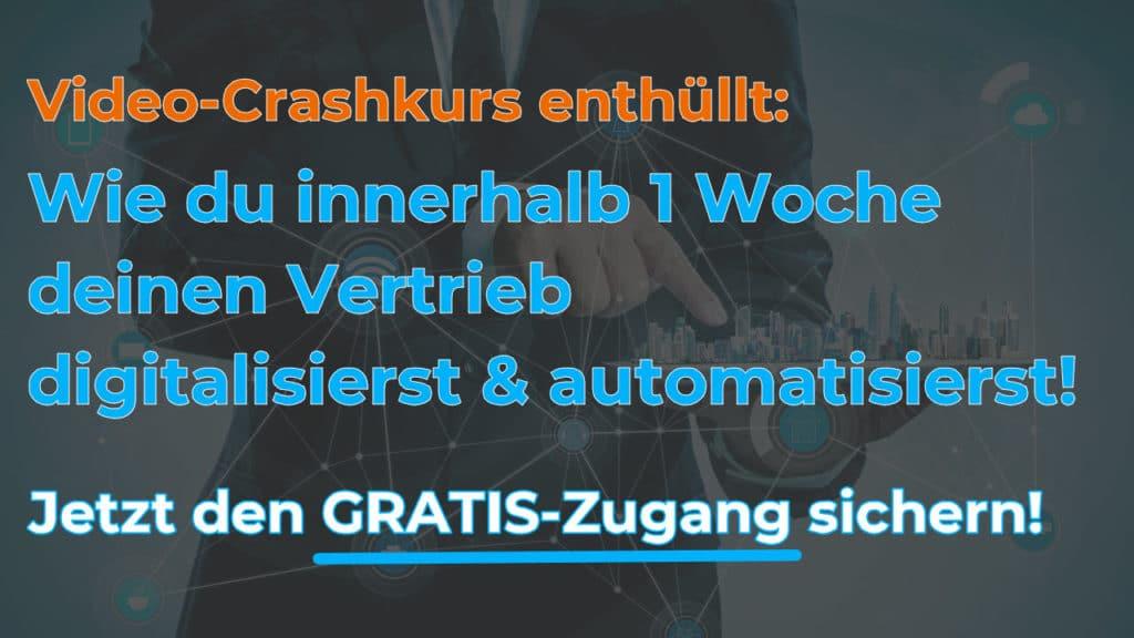 Crashkurs Vertrieb digitalisieren - Gerald Vockenberg