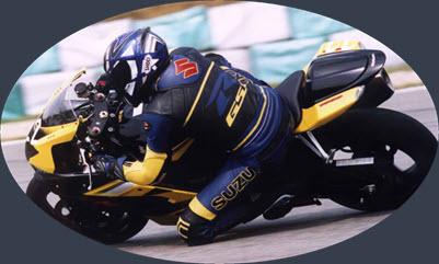 Gerald Vockenberg auf Suzuki GSX-R 1000